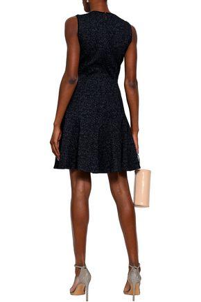 REBECCA TAYLOR Cotton-blend jacquard mini dress