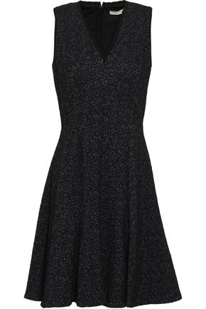 REBECCA TAYLOR Cotton-blend jacquard mini dress