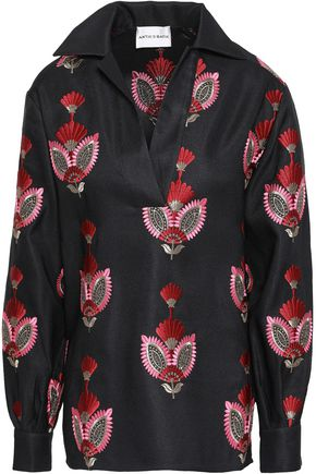 ANTIK BATIK Jacquard shirt