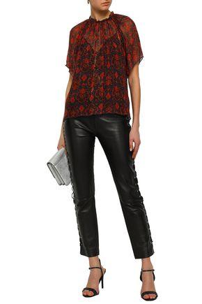 ANTIK BATIK Molly printed silk-georgette blouse
