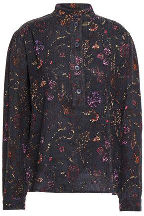 ANTIK BATIK Alina floral-print cotton blouse