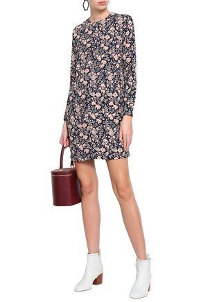 ANTIK BATIK Printed crepe mini dress