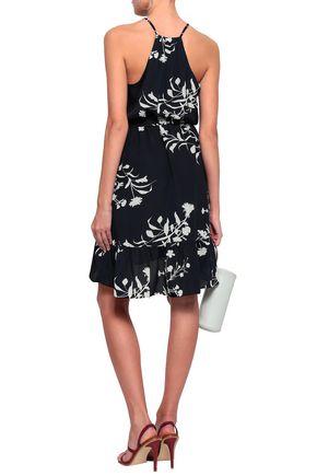 JOIE Floral-print crepe de chine dress