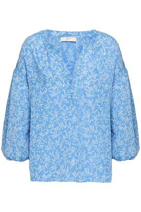 JOIE Printed crepe de chine blouse