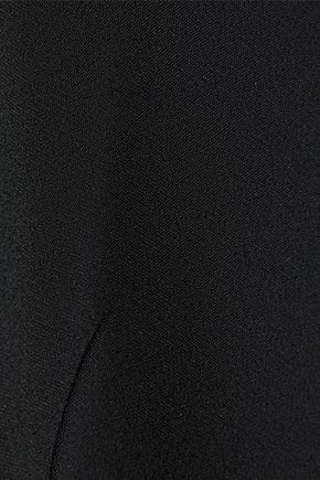 KHAITE Sabrina cutout stretch-crepe midi dress