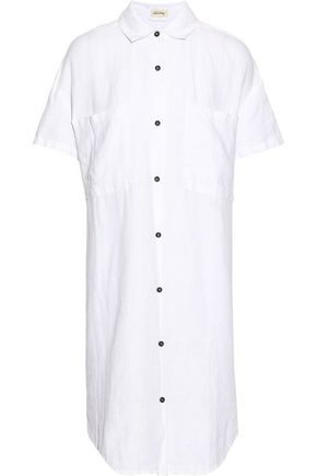 AMERICAN VINTAGE Tibtown linen shirt dress
