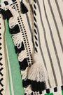 DODO BAR OR Aria embroidered striped cotton-gauze blouse