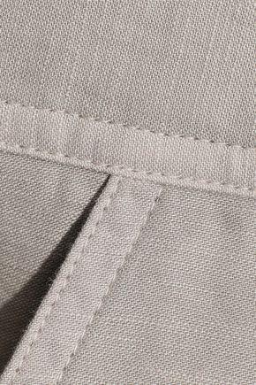 J BRAND Utility cotton-canvas playsuit