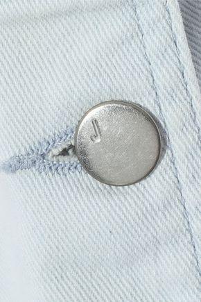 J BRAND Cropped denim overalls