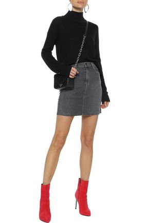LINE Andrea cotton and modal-blend turtleneck sweater