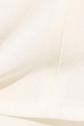 J BRAND Christina pleated silk top