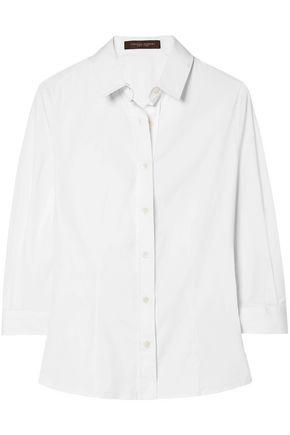 CAROLINA HERRERA Cotton-poplin shirt