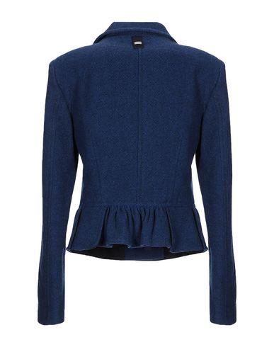 Фото 2 - Женский пиджак HIGH by CLAIRE CAMPBELL темно-синего цвета