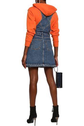 419f4eeacde ... McQ Alexander McQueen Two-tone denim mini dress. 1