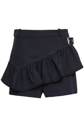 3.1 PHILLIP LIM Ruffled cotton-blend twill shorts
