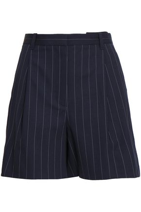 3.1 PHILLIP LIM Pinstriped stretch-wool shorts