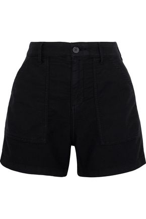 RTA Vendetta cotton-twill shorts