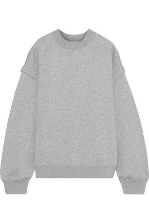 FILIPPA K Mélange French cotton-blend terry sweatshirt