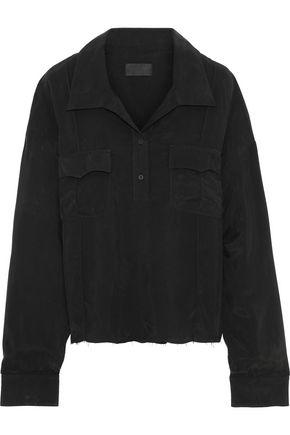 RTA Vail oversized poplin shirt