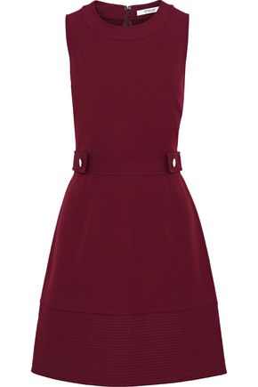 DEREK LAM 10 CROSBY Stretch-cotton twill dress