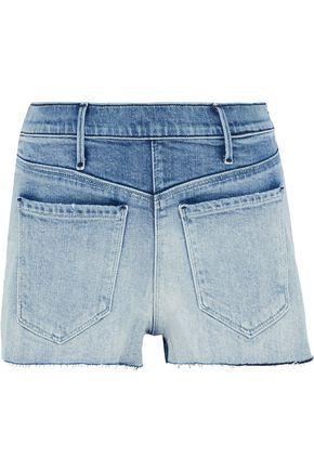 RTA Faded denim shorts