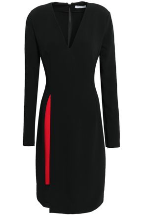 MUGLER Crepe dress