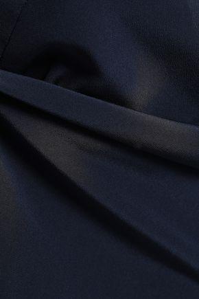 MUGLER Embellished silk crepe de chine camisole