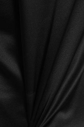 MUGLER Embellished silk-satin camisole