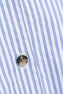 KHAITE Dakota striped cotton-poplin shirt