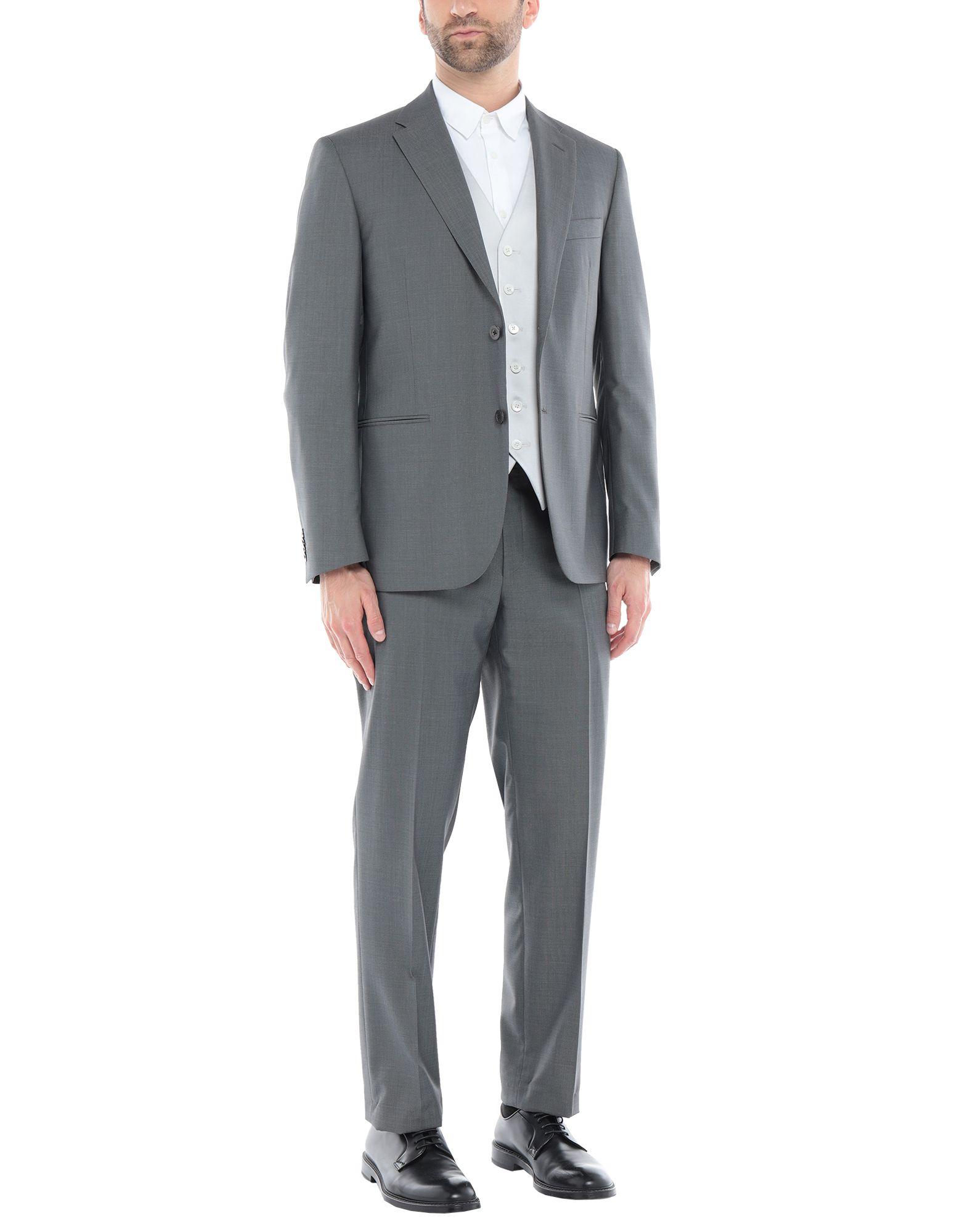 《セール開催中》CC COLLECTION CORNELIANI メンズ スーツ グレー 50 バージンウール 87% / シルク 13%