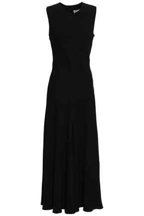 KHAITE Satin-crepe maxi dress