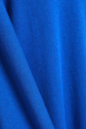 MICHAEL KORS COLLECTION One-shoulder draped cashmere midi dress