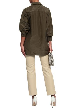MICHAEL KORS COLLECTION Silk and cotton-blend shirt