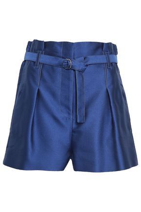 3.1 PHILLIP LIM Pleated satin shorts