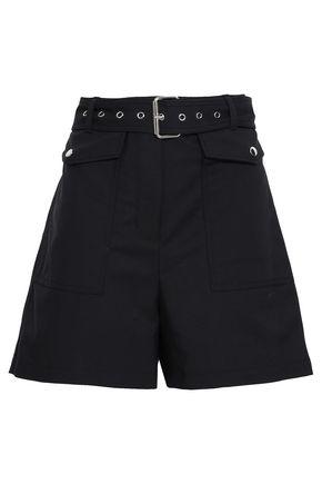 3.1 PHILLIP LIM Belted cotton-blend shorts