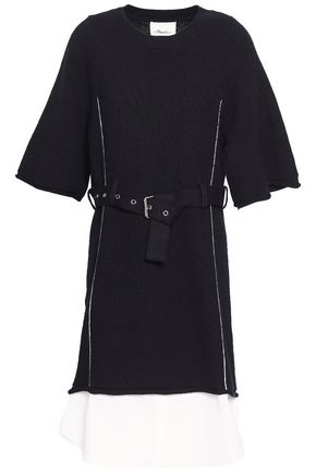 3.1 PHILLIP LIM Layered cotton-blend dress