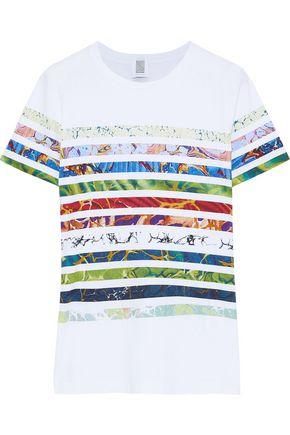 ROSIE ASSOULIN Printed cotton-jersey T-shirt
