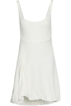 3.1 PHILLIP LIM Open-back gathered crepe mini dress