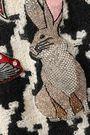 DOLCE & GABBANA Embellished houndstooth virgin wool-blend tweed dress