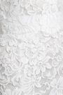 DOLCE & GABBANA Fluted cotton-blend corded lace gown