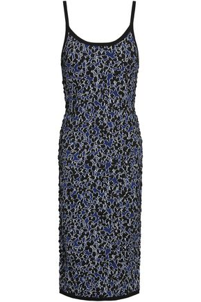 MICHAEL KORS COLLECTION Jacquard-knit dress