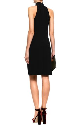 MICHAEL KORS COLLECTION Stretch-crepe turtleneck dress