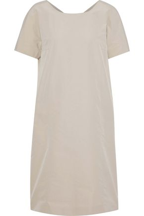 MAX MARA Nelson coated-poplin mini dress