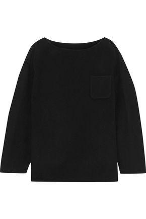GOEN.J Mélange wool-blend felt top