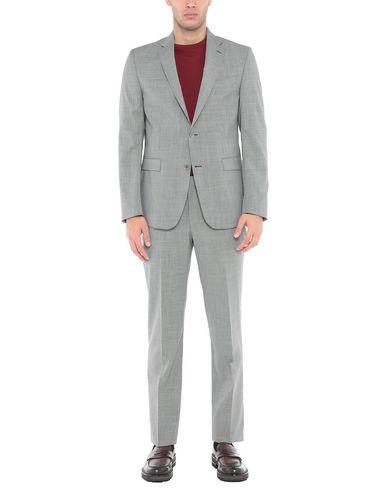 Купить Мужской костюм  серого цвета