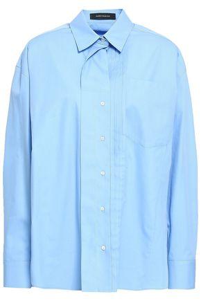 CEDRIC CHARLIER Cotton-poplin shirt