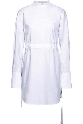 GOEN.J Gathered cotton-poplin tunic