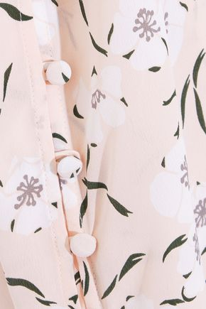 EQUIPMENT Ines floral-print washed-silk camisole