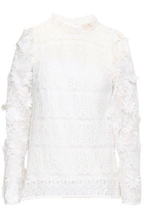 MICHAEL MICHAEL KORS Crochet-knit top