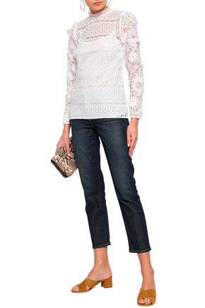 MICHAEL MICHAEL KORS Crochet-knit top